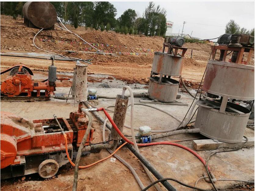 内蒙古赤峰管道灌浆工程中使用了鼎盛华瑞灌浆记录仪