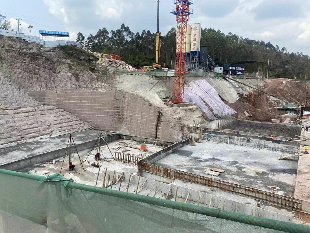同心桥水库灌浆枢纽工程中使用了鼎盛华瑞灌浆记录仪