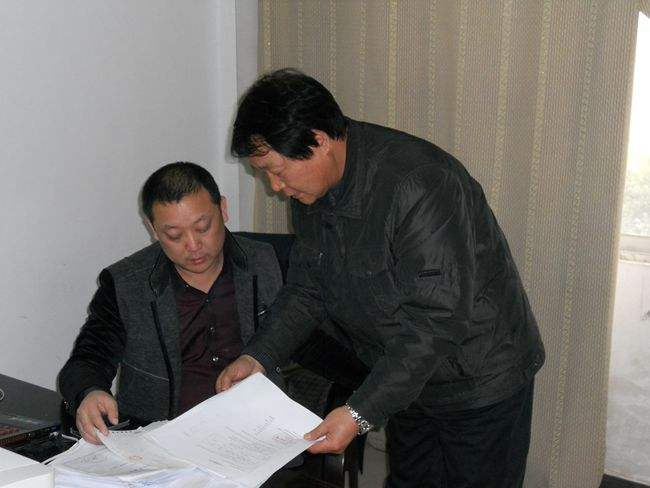 德阳知名企业赵总对公司的支持