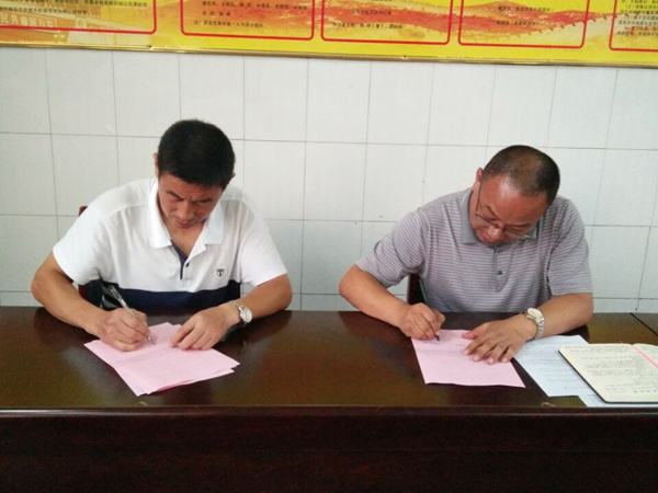 王总和李总兄弟公司和公司深度合作