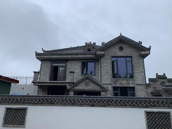 陕西某客户仿古地砖合作案例
