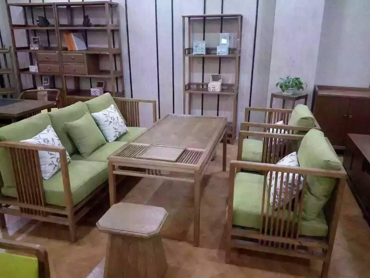 成都新中式茶樓家具