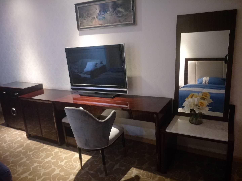 新都酒店家具展廳案例
