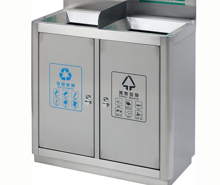 同样是不锈钢垃圾桶,材质决定了细节,比如201和304!