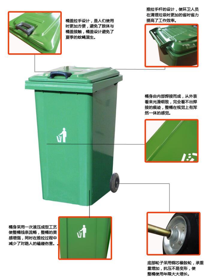 三点讲述脚踏式不锈钢垃圾桶组成工作原理及功能!