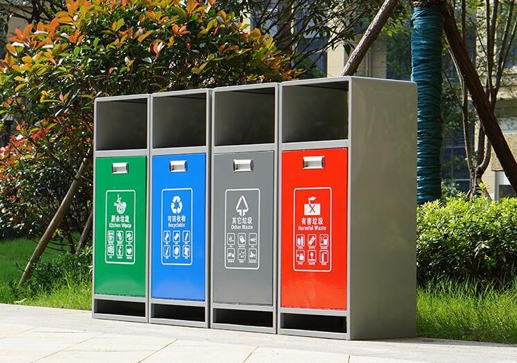 甘肃垃圾桶兰州分类垃圾桶厂家找本土制作商定西道盛环保