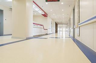 医院自流平水泥 使用案例