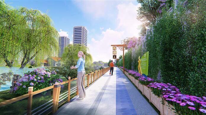 永靖县健身大道景观提升设计