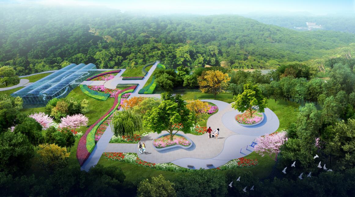 榆中水土保持科学研究所院内游园景观设计