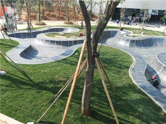 耐候钢树池水池案例展示