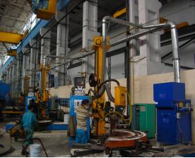 东方汽轮机厂——焊接分厂隔板工段案例展示