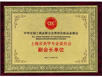 上海市美甲专业委员会副会长单位