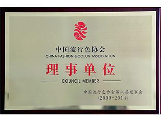 中国流行色协会理事单位