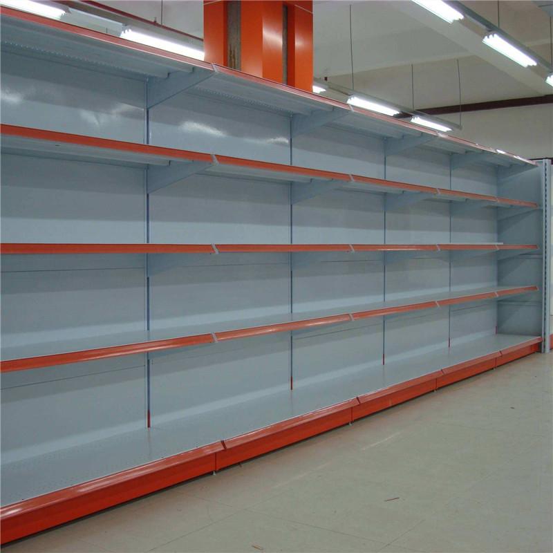 宜昌超市货架定制_商场超市便利店钢木材质货架定做厂家