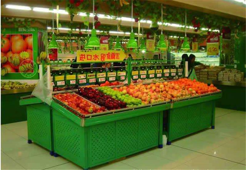 宜昌货架厂家定制生鲜水果店蔬菜超市货架
