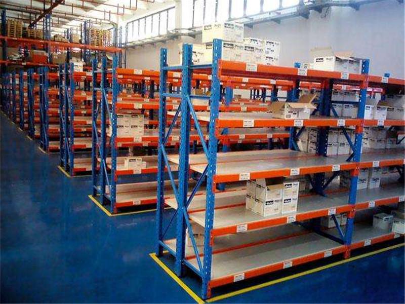 鼎诚生产的重型货架成品图