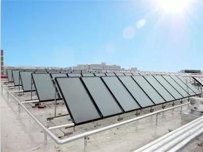 集中供热太阳能热水系统工程技术分析