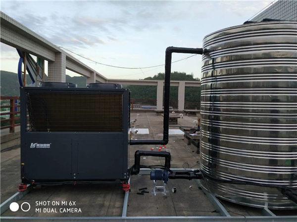 空氣能熱水—空港辦公及宿舍樓案例