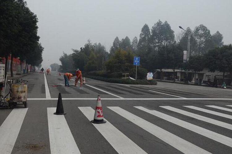 道路標線它的施工流程及工藝應該注意什么?