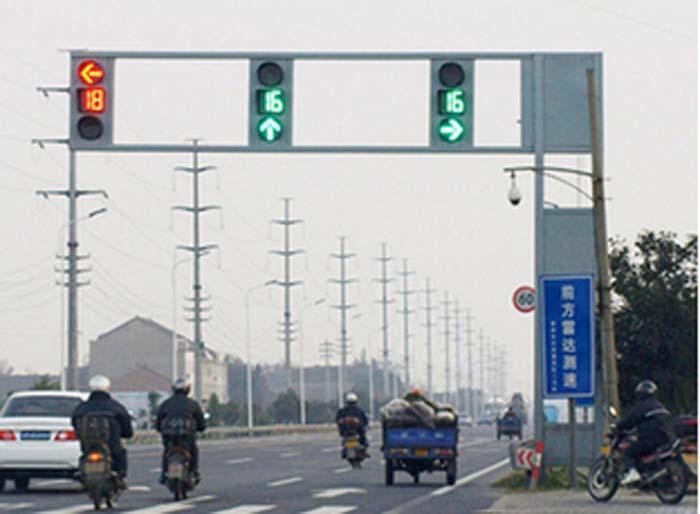 交通信号灯安装案例