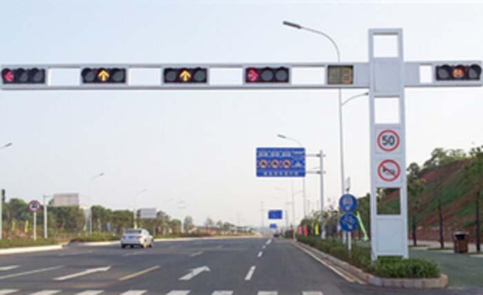 甘肅新宏交通設施公司合作案例-交通信號燈
