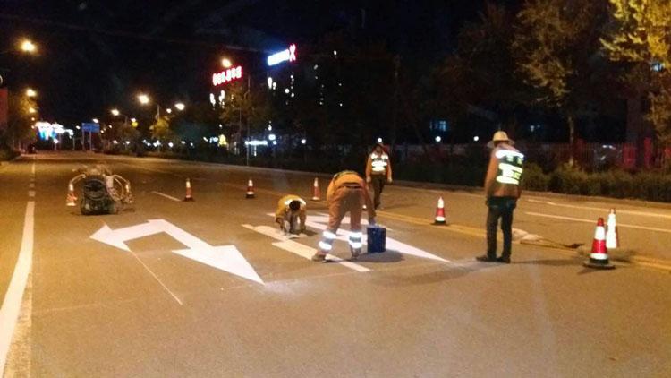 甘肅道路標線施工