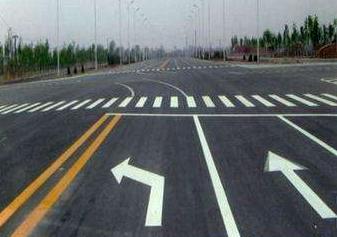 蘭州道路標線