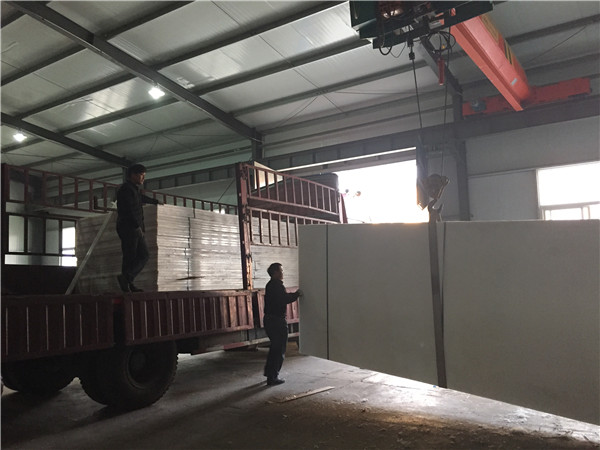 鼎元公司超高分子量聚乙烯板材发货