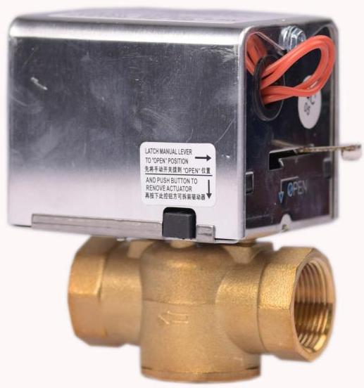 JLBVA-7010丝口电动阀