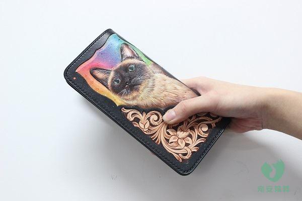 皮艺雕刻——钱包