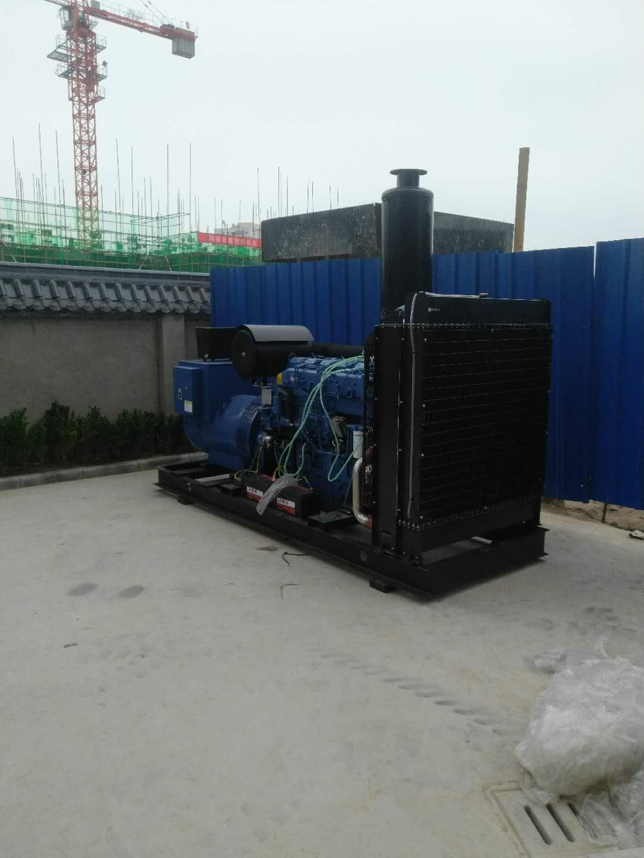 柴油發電機安裝方法
