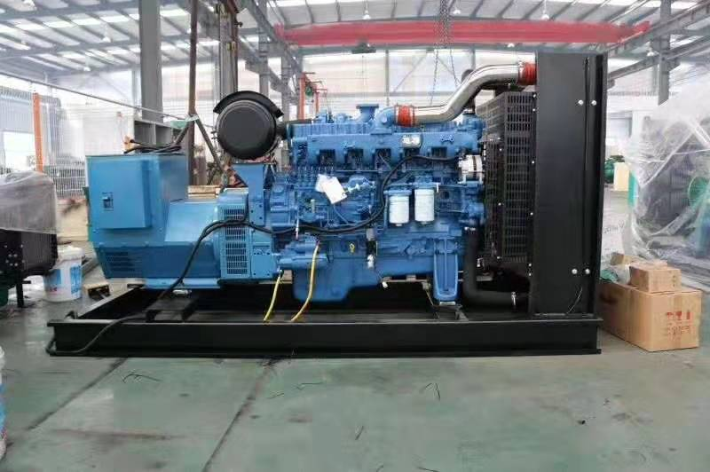 400KW玉柴發電機為內蒙古源盛制鈉有限王者彩票提供電力保障