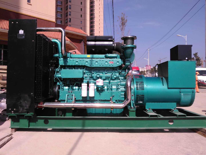 甘肅500kw玉柴發電機組性能可靠