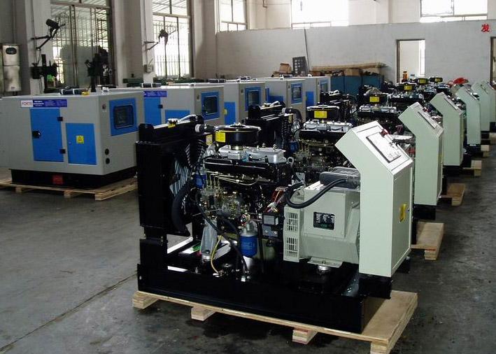 甘肃省第三人民医院购进发电机