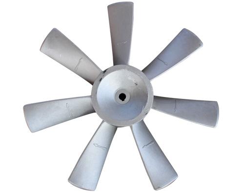 铝合金风机叶轮出现磨损的有效处理办法