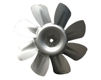 风机专用叶轮的多种样式特点如何