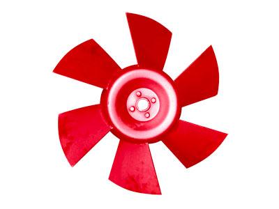 风机的重点部件-耐磨风机叶轮