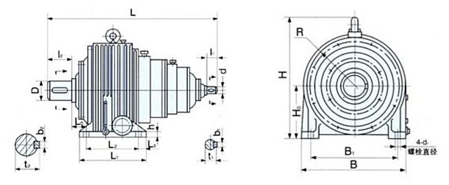 NGW系列齿轮减速机