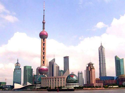 上海东方明珠塔旋转餐厅设备用减速机