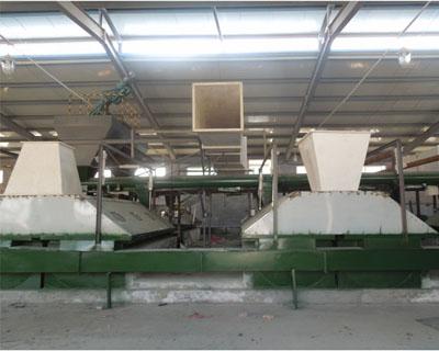 山东某厂纺织空调设备安装案例