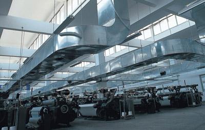 生产车间通风管道安装案例