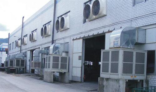纺织厂空调设备使用中