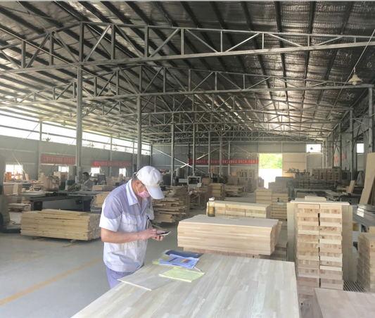 四川幼儿园家具生产厂区图