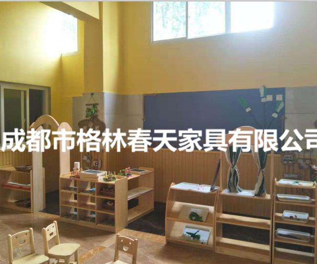 四川幼兒園家具成功案例