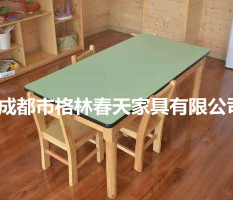 四川幼兒桌椅成功案例