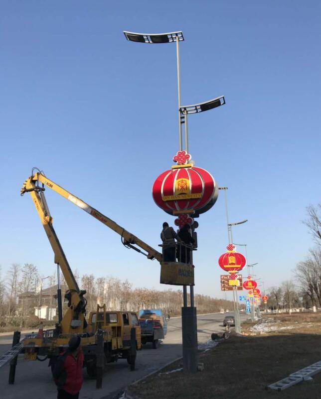 西咸新区道路陕西led节日灯项目