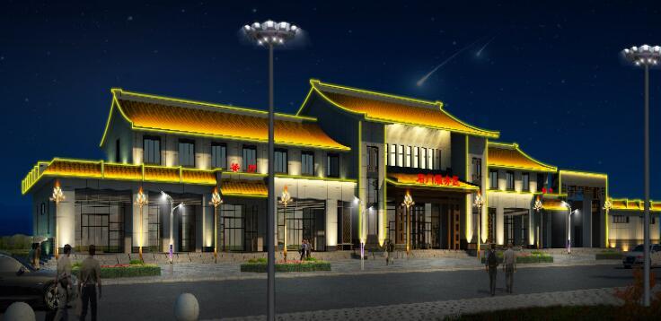 汉中石门服务区北区亮化工程