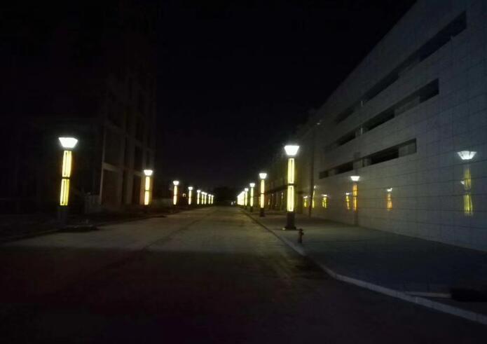 甘肃省庆城县凤城国际商业街景观亮化项目