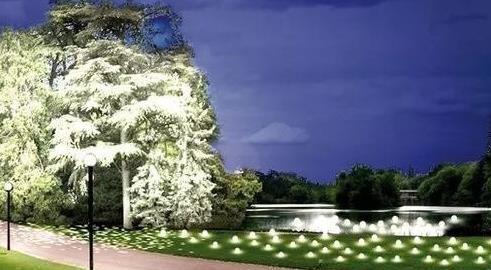 营造夜晚气氛的强手-景观灯