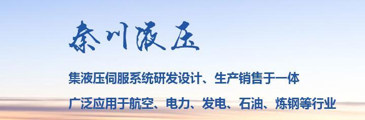 陕西伺服液压系统厂家